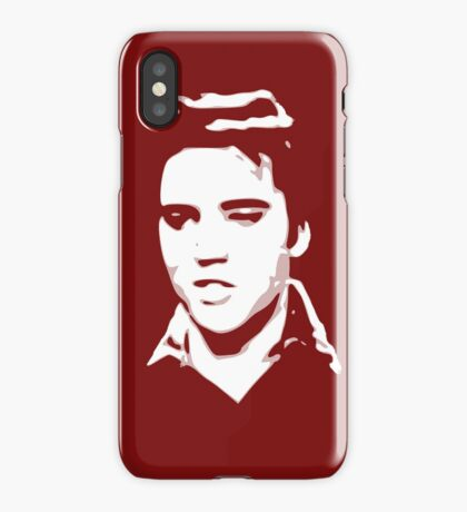 a elvis t-shirt iPhone Case/Skin