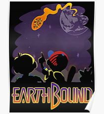 EARTHBOUND - First Steps Poster