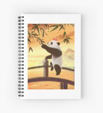 hungry panda Spiral Notebook