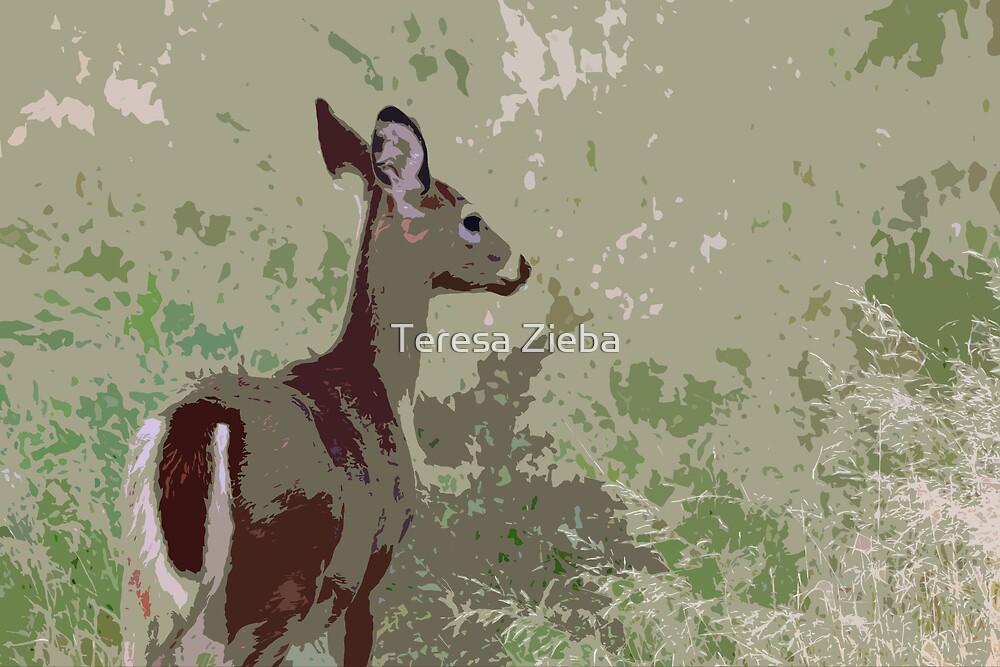 Drawn Into The Frame by Teresa Zieba