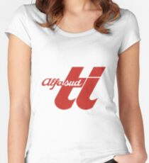 Alfasud Ti Red Women's Fitted Scoop T-Shirt