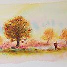 Autumn fox by Tiphanie Beeke