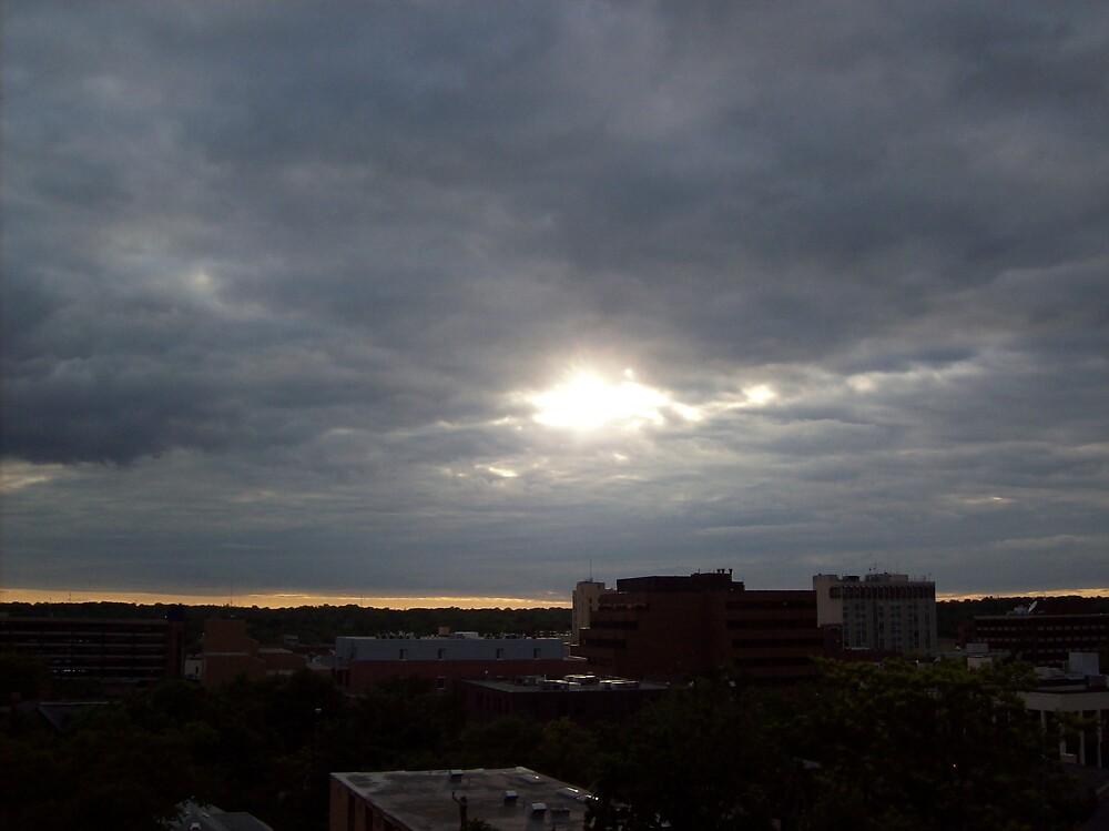 sun through cloudy a2 by ariyahjoseph