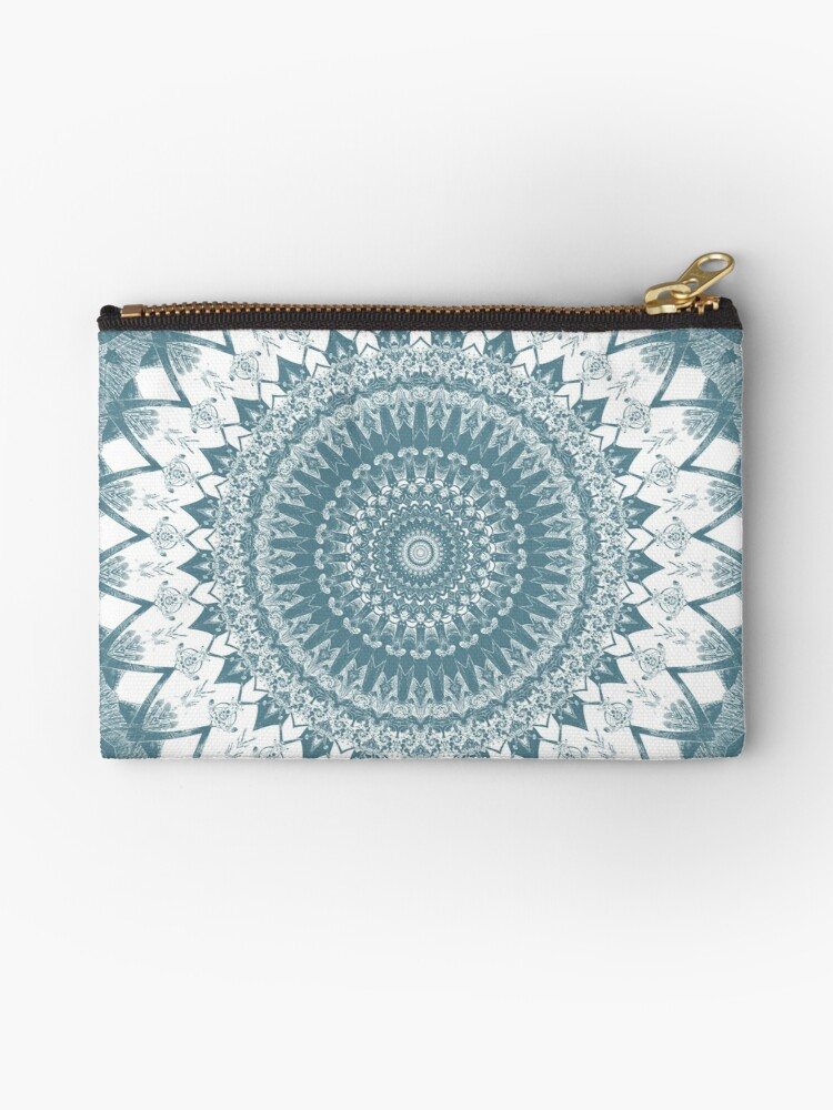 Boho Blue Mandala by Kelly Dietrich