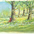 fox in spring by Tiphanie Beeke
