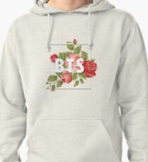 BTS floral frame Pullover Hoodie