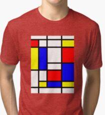 Mondrian Tri-blend T-Shirt