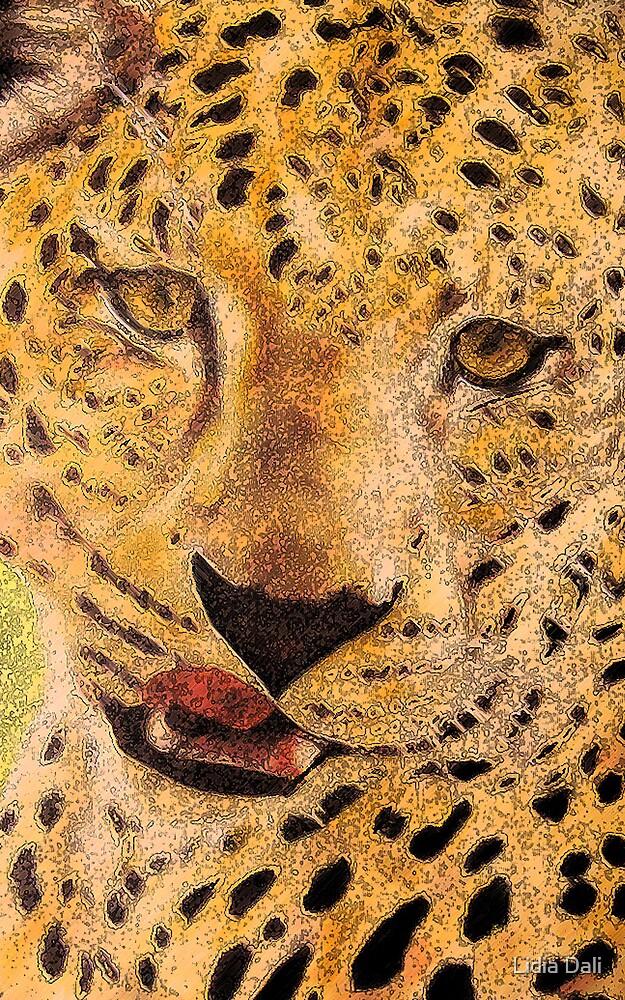 Leopard by Lidiya