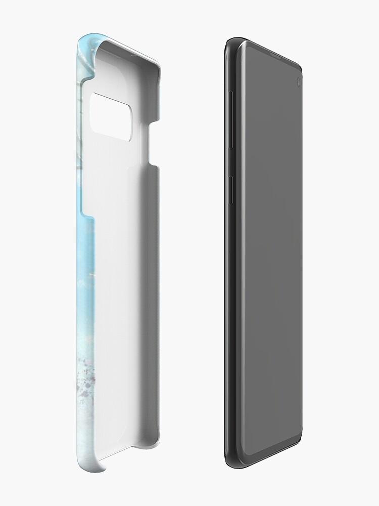 Alternate view of skating bear Case & Skin for Samsung Galaxy