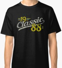 Classic Distressed  1988  Retro Vintage nineteen 88  Classic 29 th Birthday  Born in 1988  29 Years B-Day Gift T-Shirt Sweater Hoodie Iphone Samsung Phone Case Coffee Mug Tablet Case Gift Classic T-Shirt