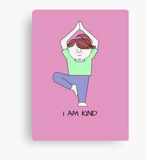 Yoga for Kids Canvas Print