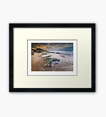 Whiterocks sunrise Framed Print