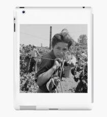 An American Boy  by Dorothea Lange iPad Case/Skin