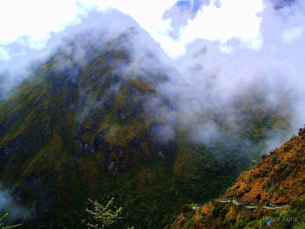 Hiking in the Clouds by Honor Kyne