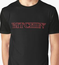 Stranger Things Bitchin' Outline Graphic T-Shirt