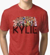 Kylie through the years Tri-blend T-Shirt