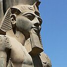Statue at Abu Simbel, Egypt by chord0