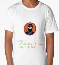 CSS Pun - Ninja Long T-Shirt