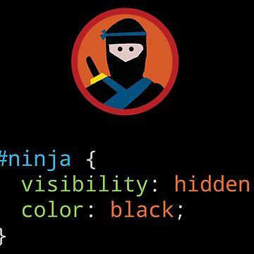 CSS Pun - Ninja by SpaceLake