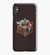 Monster Runes iPhone Case