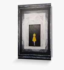 Primary - Yellow Greeting Card