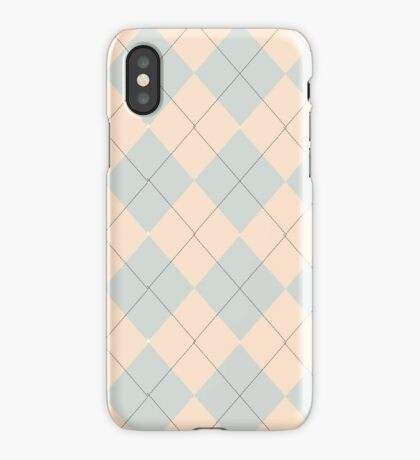 Pink and Purple Argyle Pattern iPhone Case/Skin