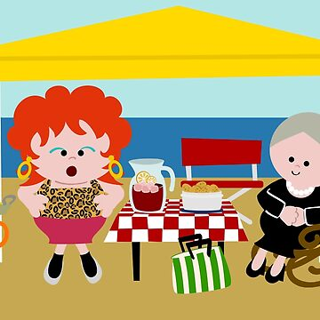 Spanish Family On The Beach by soniapascual