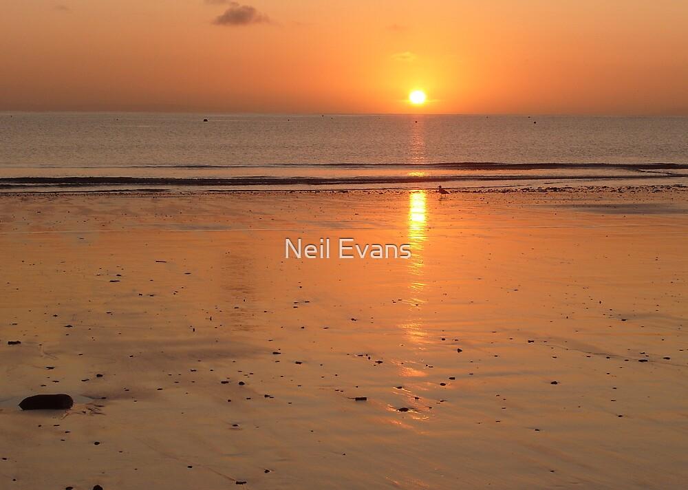 Saundersfoot Sunrise 2 by Neil Evans