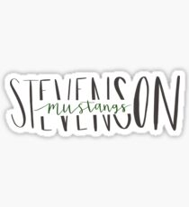 Stevenson Mustangs Sticker