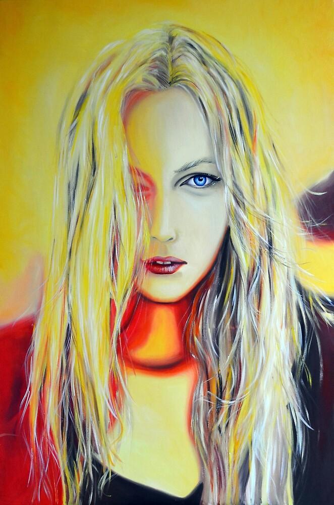 Watch the sun rise, 120-80cm, 2017, oil on canvas by oanaunciuleanu