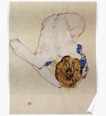"Egon Schiele ""Portrait of a woman"", 1910 Poster"