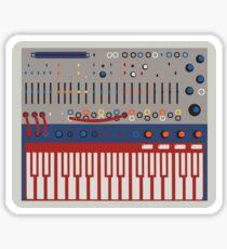 Buchla Music Easel Sticker