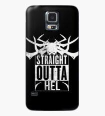 Straight Outta 'Hel' Case/Skin for Samsung Galaxy