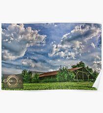 A Georgia Centennial Farm Poster
