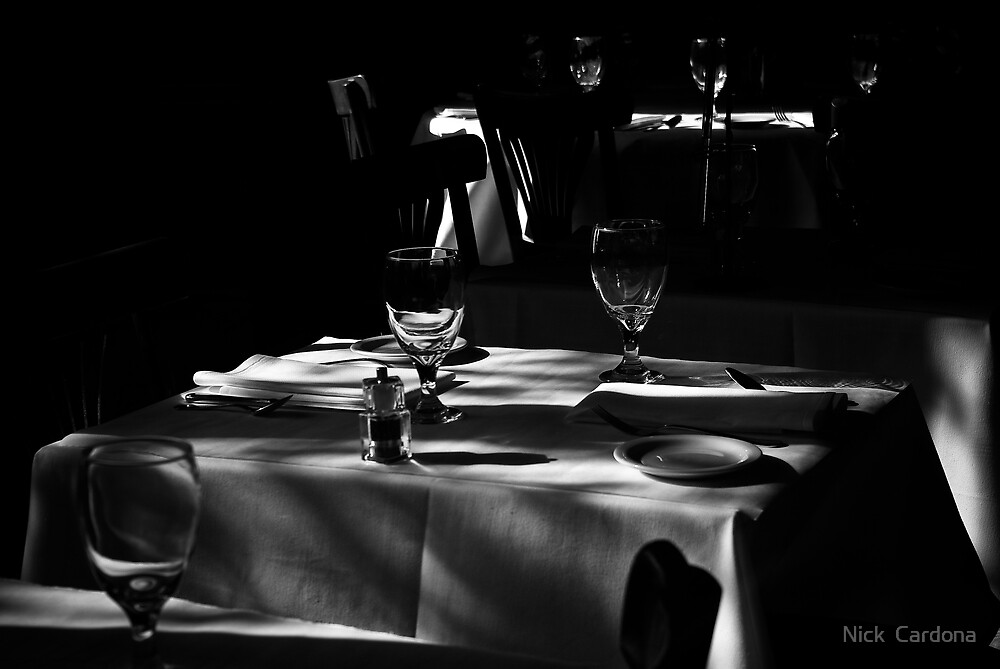 Table for Two by Nick  Cardona