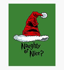 Naughty or Nice? Photographic Print