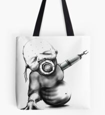 Baby INHALE Scifi art 2017 Cyber Collection Tote Bag