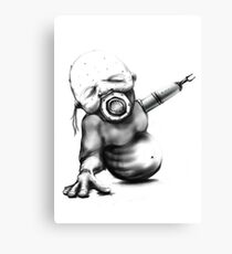 Baby INHALE Scifi art 2017 Cyber Collection Canvas Print