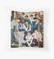 Wanna One (1-1=0 Nothing Without You) Throw Pillow