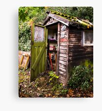 The Old Garden Shed Canvas Print