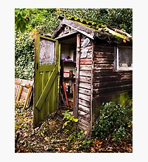 The Old Garden Shed Photographic Print
