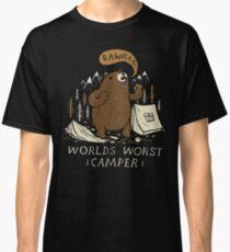 Camiseta clásica el peor campista del mundo
