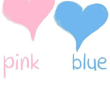 pink or blue mum loves you by arcadetoystore