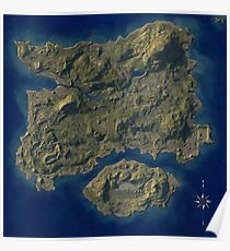 PUBG Map Poster Poster