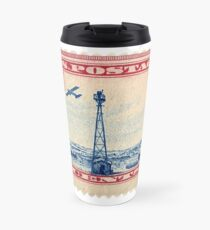 Air Mail Stamp Travel Mug
