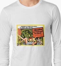 The monster that challenged the world, horror movie poster T-Shirt
