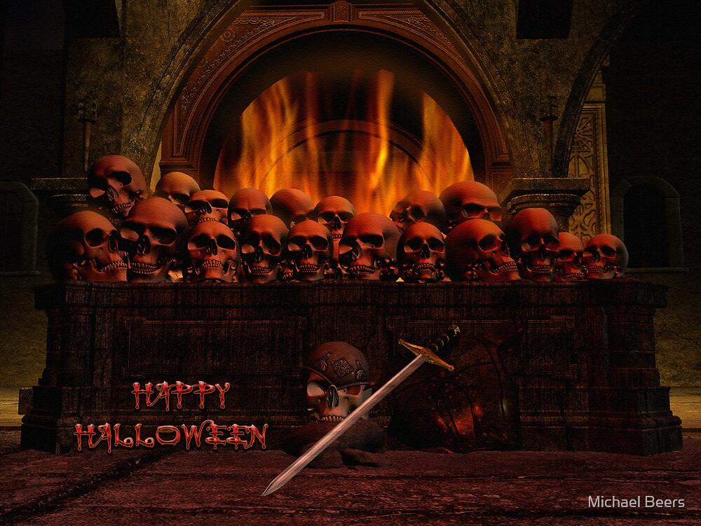 HALLOWEEN CARD 4 by Michael Beers