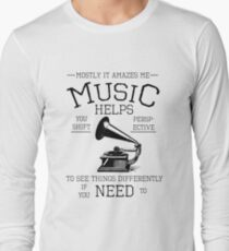 Fringe Music Quote T-Shirt