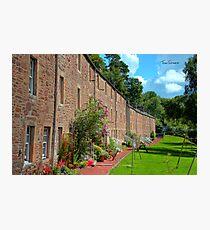 New Lanark Houses Photographic Print