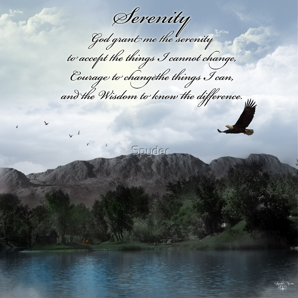 Serenity Lake by Spyder